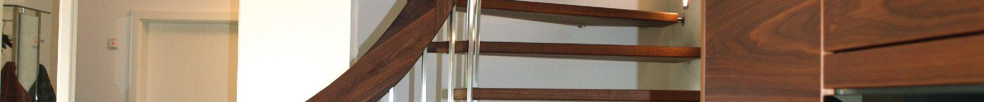 Stabtragende Treppen - offene Optik